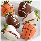 6 Hand-Dipped Sports Berries