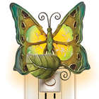 Capiz Shell Butterfly Nightlight