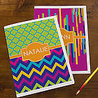 Bright and Cheerful Personalized Girl's School Folders
