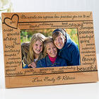 Mom Wood Picture Frame