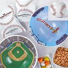 Baseball Shaped Gift Tin