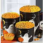 Boo! 3 Way 2 Gallon Popcorn Tin