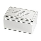 """I'll Be There"" Musical Jewelry Box"