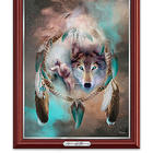 Awakening Dreams Wolf Spirit Canvas Print