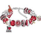 Alabama Crimson Tide Charm Bracelet