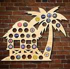 Beach Hut Beer Cap Wall Hanging