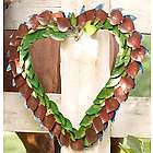 Handcrafted Metal Heart Wreath