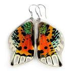 Sunset Butterfly Wing Earrings