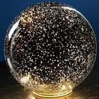 "5"" Lighted Mercury Glass Sphere"