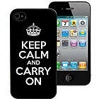 Keep Calm and Carry On Personalized iPhone Case