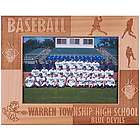 Wooden Personalized Baseball Frame