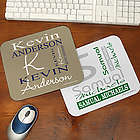 Personally Yours Personalized Mouse Pad