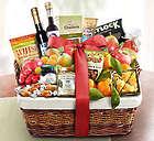 Ultimate Fresh Fruit, Sweet & Savory Gift Basket