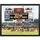 Pittsburgh Steelers Personalized Scoreboard 16x20 Framed Canvas