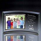 Grandchildren Curved Glass Horizontal 7x5 Photo Frame