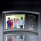 Grandchildren Curved Glass Horizontal 7x5 Photo Frame