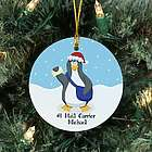 Personalized Ceramic Mail Carrier Ornament
