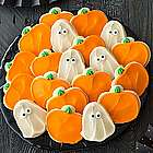 100 Ghost and Pumpkin Cutout Cookies