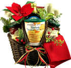 Country Christmas Breakfast Fixins Gift Basket