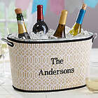 Personalized Neoprene Covered Beverage Tub