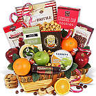 Valentine's Day Fruit and Treats Gift Basket