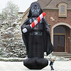 16 Feet Inflatable Christmas Darth Vader