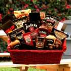 Jack Daniels and Jim Beam Grilling Gift Basket