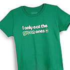 I Only Eat the Green Ones M&M's Junior Fit T-Shirt