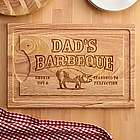 Personalized Smokin' Hot BBQ Cutting Board