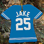 Personalized Ceramic Sports Jersey Ornament