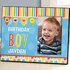 Child's Happy Birthday Photo Frame