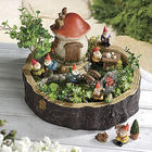 Miniature Gnomes Fairy Garden Sculpture