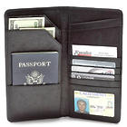 Travel Mate Leather Passport & Document Holder