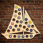 Sailboat Beer Cap Map