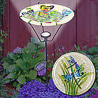 Dragonfly Solar Bird Bath