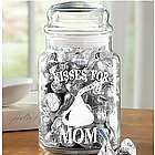 Personalized Hershey's Kisses Treat Jar