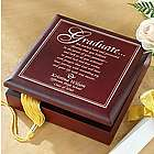 Personalized Graduation Wood Memory Box