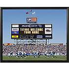 Personalized Tennessee Titans Scoreboard Print