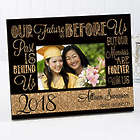 Personalized Our Future Is Before Us Graduation Picture Frame