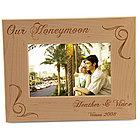 The Honeymooner's Picture Frame