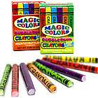 Magic Colors Bubble Gum Crayons 2 Pack