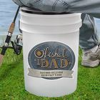 O'Fishal Dad Personalized Bucket Cooler