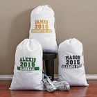 Personalized School Colors Laundry Bag