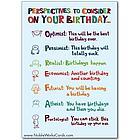 Birthday-ist Funny Talk Bubbles Happy Birthday Card