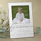 Engraved First Holy Communion Silver Picture Frame