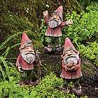 Painted Woodland Garden Gnomes