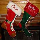 Gingerbread Cookie Personalized Christmas Stocking