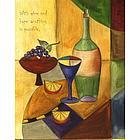 Personalized Wine Connoisseur II Artwork