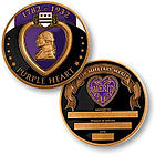 Purple Heart Personalized Keepsake Coin
