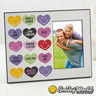 Personalized Loving Heart Smiley Face Picture Frame